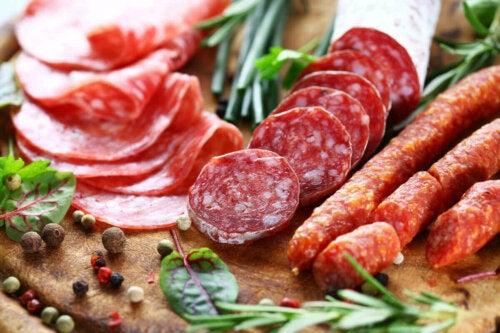 işlenmiş ürünler et