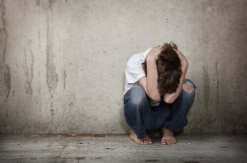 kriz geçiren çocuk