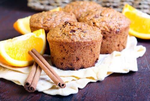 muffinler tarçın portakal