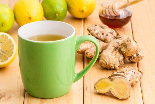 Zencefil, bal, tarçın ve acı biber ile yapılmış balgam söktürücü etkili bir içecek.