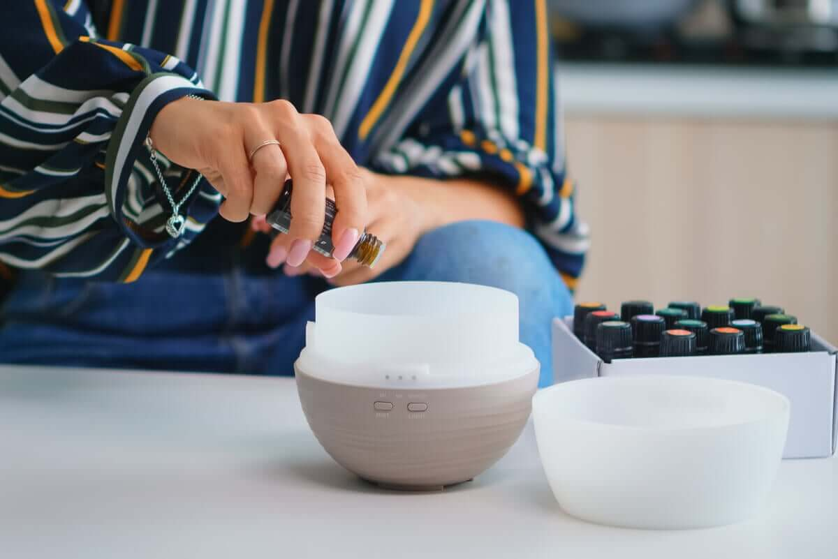 aromaterapi hazırlığı