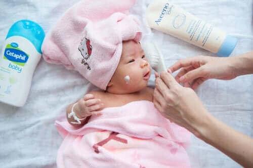 bebek havlu bakım