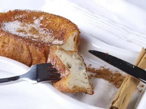 Şekersiz Tam Tahıllı Fransız Usulü Tost