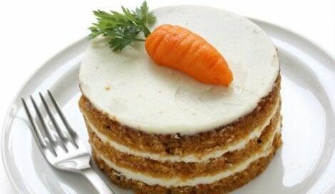 Porsiyonluk havuçlu kek