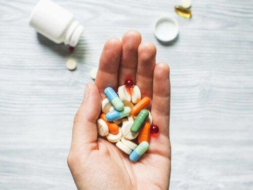 çeşitli ilaçlar