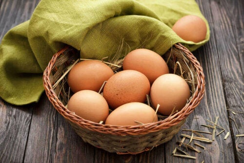 sepette yumurtalar