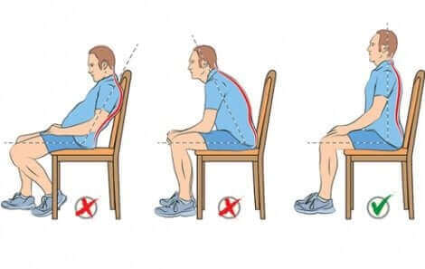 oturma pozisyonu