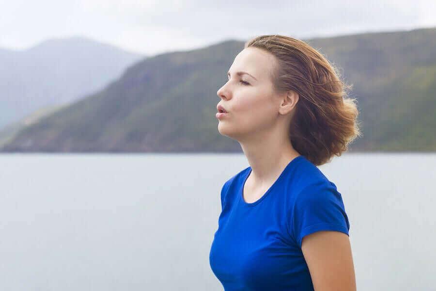 açık havada zor nefes almak