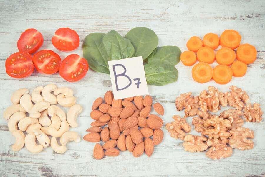 biyotin b7 vitaminidir