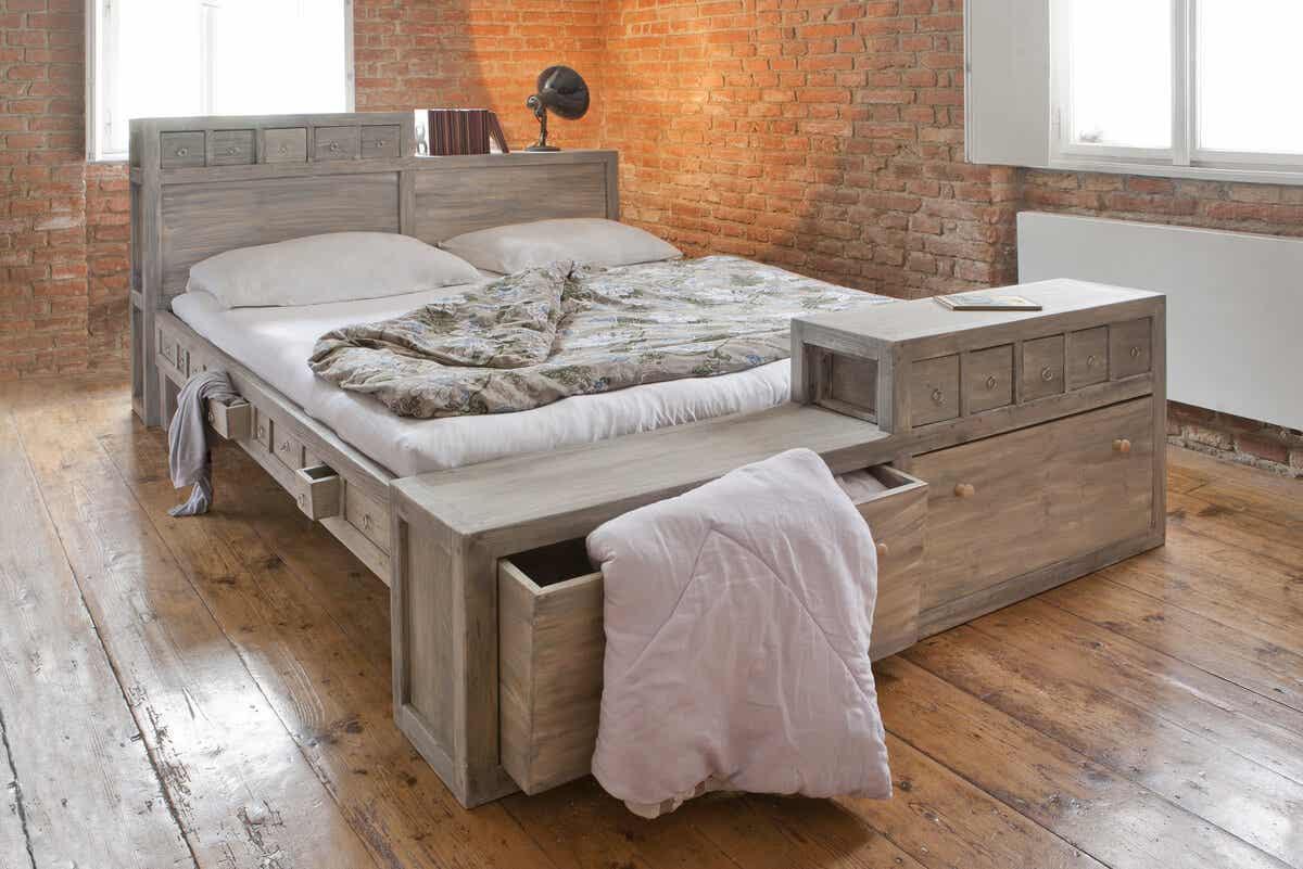 çekmece bazalı yatak