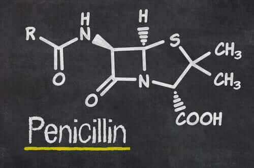 kimyasal penisilin formülü
