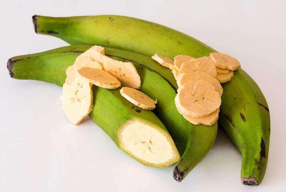 plantain muzları