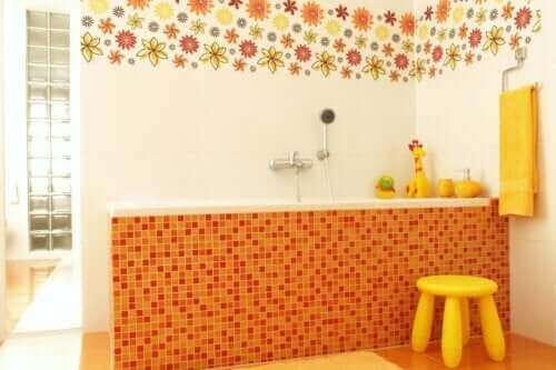 Çocuk Dostu Banyo Dekoru İçin Yedi Fikir